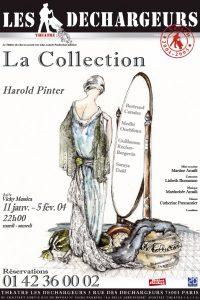 Affiche, La Collection, Harold Pinter