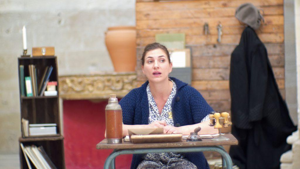 Emmanuelle Galabru, dans la pièce adaptée par Martine Amsili des Lettres de Westerbork, de Etty Hillesum